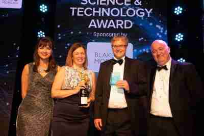 Success at the Thames Valley Tech Awards 2018